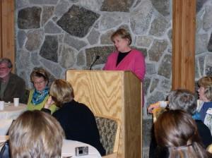 Gloria DeGateano speaking